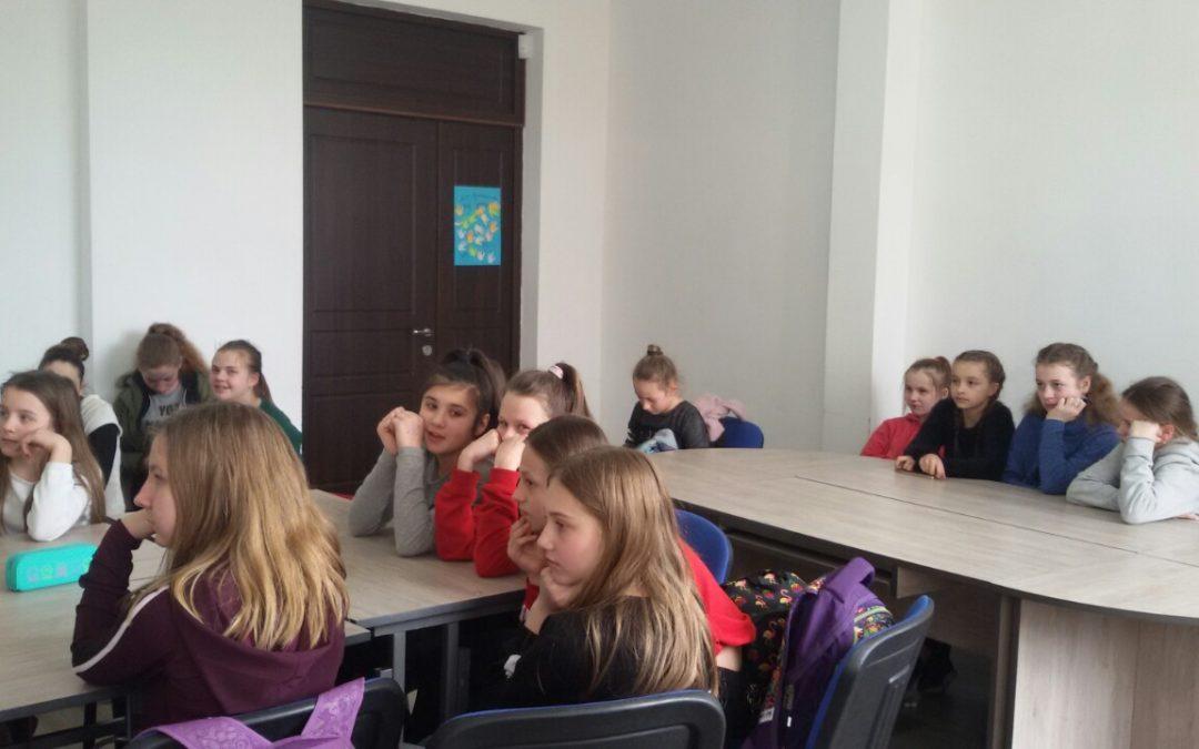 Зустріч зі школярами середньої школи «Лідер»