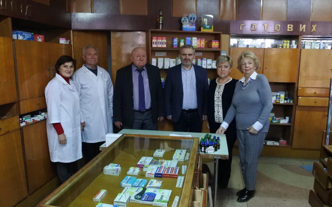 Зустріч з головою Ради роботодавців фармацевтичного факультету