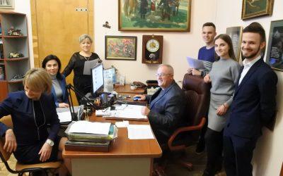 Зустріч з головою Ради роботодавців стоматологічного факультету